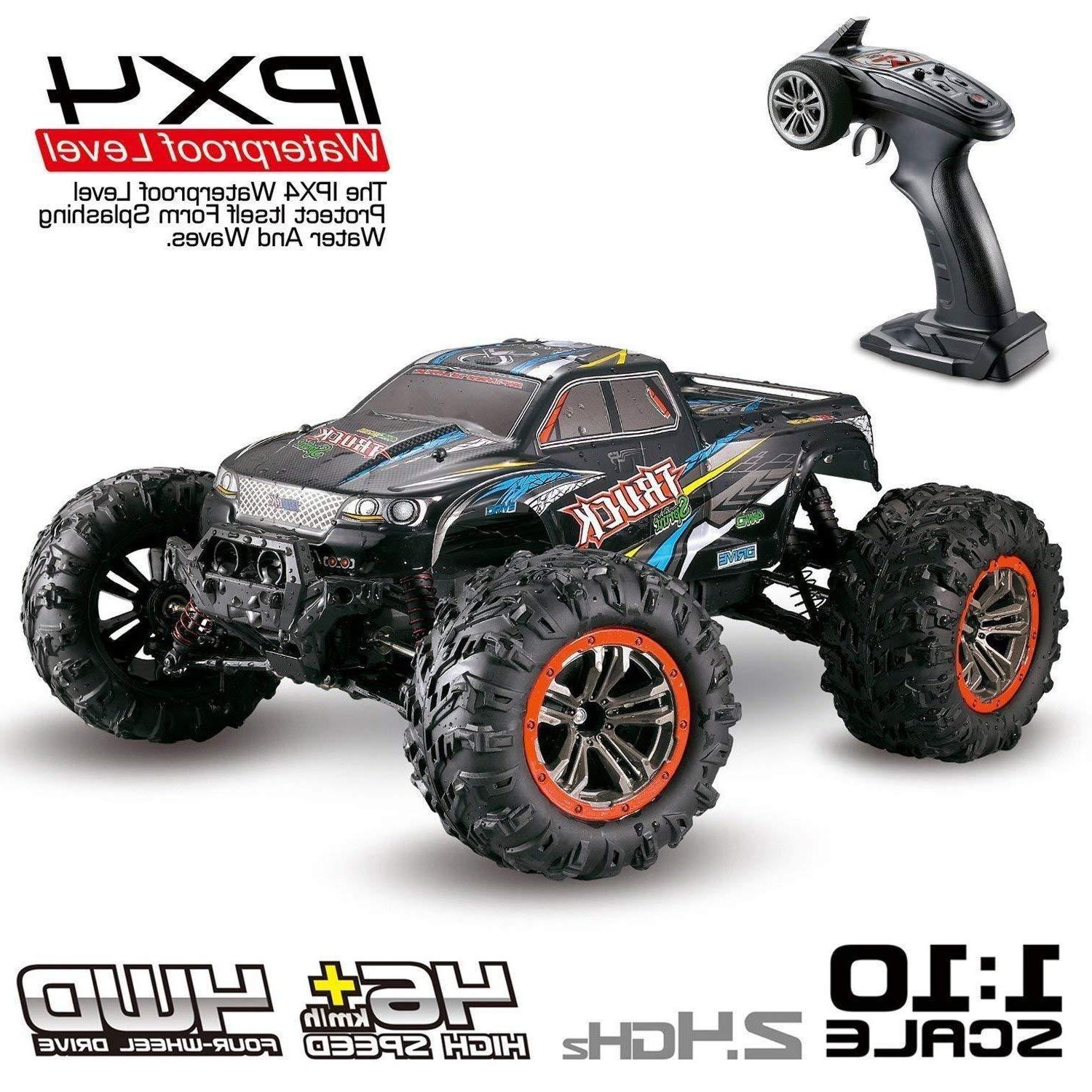 Hosim 9125 RC Car 1:10 Scale 4WD 2.4Ghz Off-road Remote Cont
