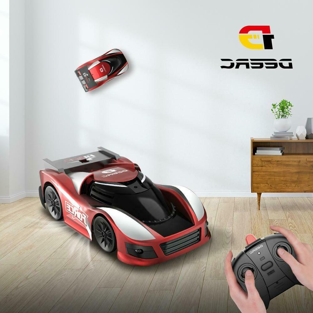 wall climbing remote control rc car rotating