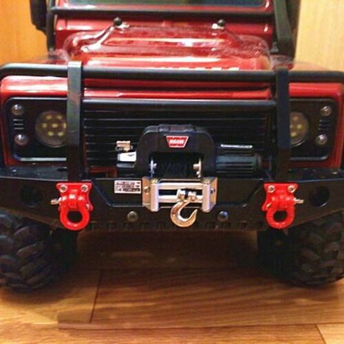 Winch Receiver For 1/10 SCX10 Traxxas RC Crawler Car