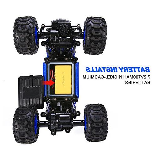 Distianert Scale Truck Amphibious RC High Truck, Off-/On- Road Buggy All