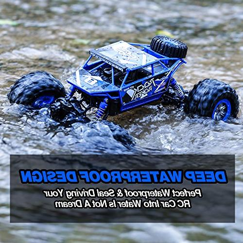 Distianert 1/12 Scale Truck 4WD Electric Amphibious RC High Speed Monster Off-/On- Road All
