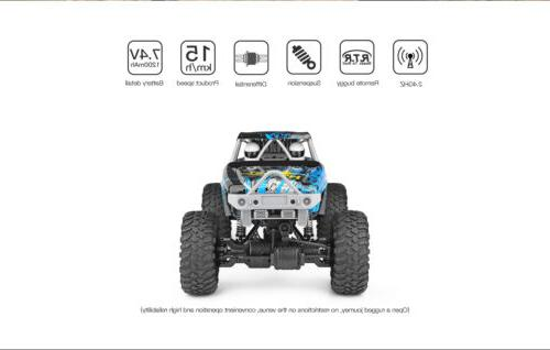 Wltoys 2.4GHz 4WD Waterproof RC Off-Road Rock