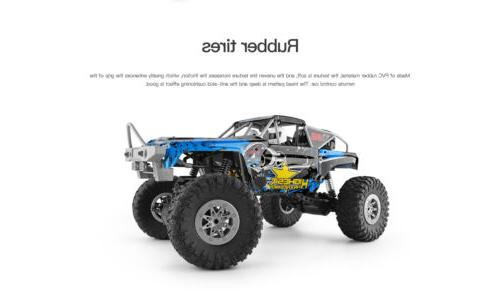 Wltoys 2.4GHz Waterproof Racing Car Off-Road Rock Electric
