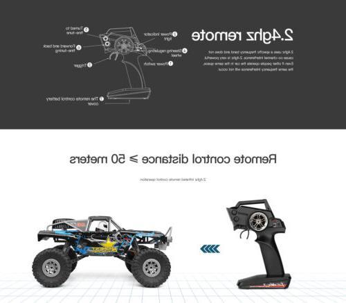 Wltoys Waterproof Racing Car Electric Crawler L