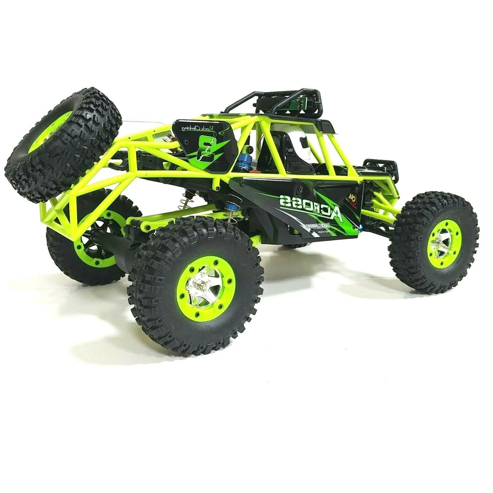 Wltoys 12428 2.4G 4WD RTR Crawler/racer. Ship FREE & in