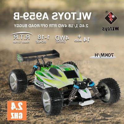 WLtoys 4WD 70KM/h Electric Off-road Buggy RC US
