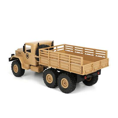 WPL 1/16 6WD Crawler Off Road RC With Light RTR