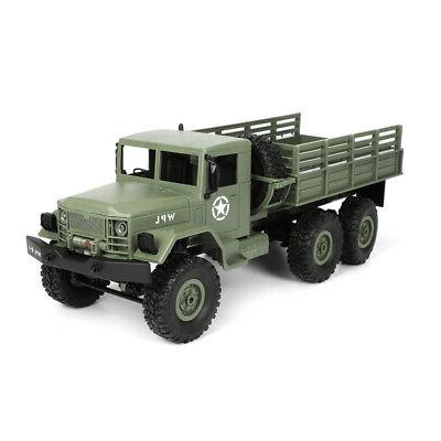 WPL 1/16 6WD Military Truck Off RC Car With