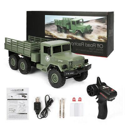 WPL 6WD Military Truck Crawler Off With