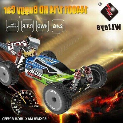 Wltoys XKS 144001 RC Car 60km/H High Speed 1/14 2.4GHz 4WD O