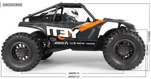 Axial Yeti 4WD Rock Racer 1/18 RC Cars EP AX90054 JR.Truck