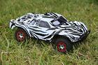 Zebra Body for Traxxas Slash 1/10  Fits All Slash Editions R