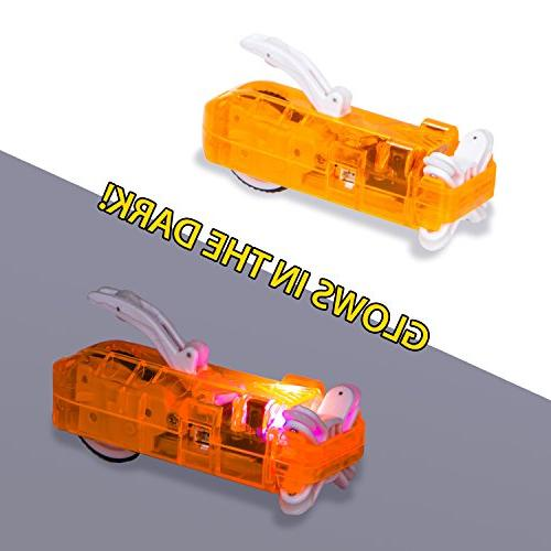 Zoom Racer Pack, Additional Orange RC Race Remote & USB Cross Crash Additional Tubes NOT Included