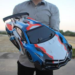 Large 1:10 RC Cars 4WD Shaft Drive 2.4GHz 40KM/H RC Car Toy