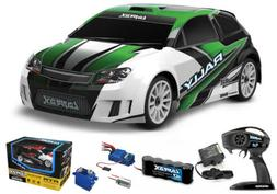 Traxxas LaTrax 4WD 1/18 Rally Car RTR Green w/ AC Charger /