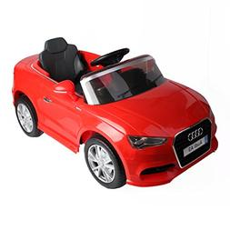 Costzon Ride On Car, Licensed Audi A3 12V 2WD Battery Powere