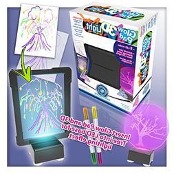 Mindscope Light Up LED DIY  GLOW PAD 3D Light BLACK Glow Mar