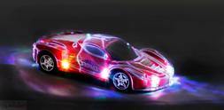Haktoys Light Up RC Car for Kids,Boys & Girls w/ Spectacular