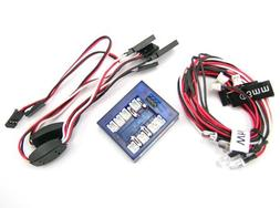 LED Lighting Kit for Cars and Trucks 1/10th Scale and Smalle