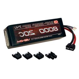 Venom 20C 2S 8000mAh 7.4V LiPo Battery with Universal Plug