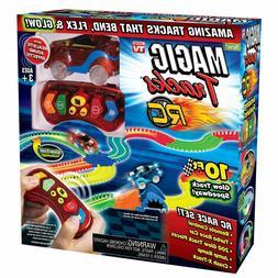 Ontel Magic Tracks RC W / Remote Control Turbo Race Car Glow