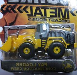 Tonka Metal Diecast Bodies - Pay Loader Construction Crew
