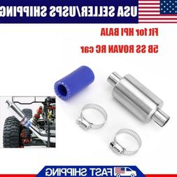 Metal Silence Muffler Exhaust Pipe Fits For 1:5 HPI BAJA 5B