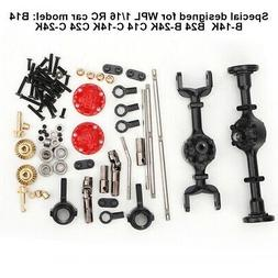 Metal Upgrade Parts for WPL 1/16 B14 B24 B26 C14 C24 RC Car