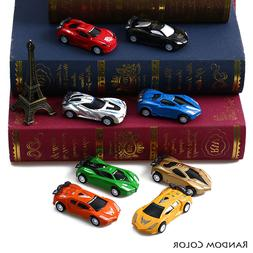 Mini Pull Back Car Toy 8 Typies Speed Racing Vehicles Model