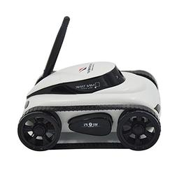 A-Parts Mini RC I Spy Remote Control Tank Car with 0.3 MP Vi