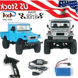 MN-45 RC Crawler Electric Car 2.4G 4WD Racing Off-road Truck