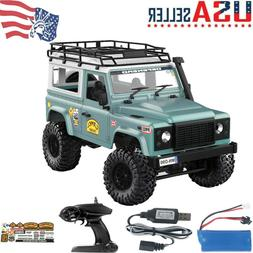MN-90 1:12 2.4G 4WD Off-road RC Car With Spare Tire+Front LE