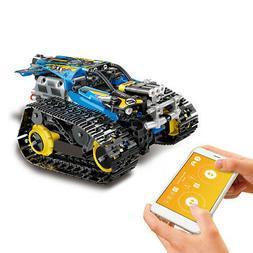 MoFun 2.4GHz RC Building Blocks Car DIY Building RC Tank APP