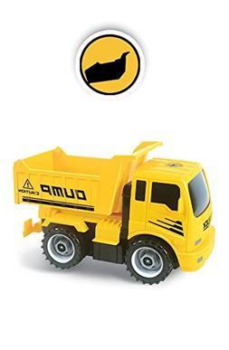 MukikiM Construct A Truck - Dump. Take it apart & put it bac