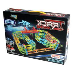 NEW 169pc RACING Track Kid MAGIC Toys Glowing In Dark CAR RA