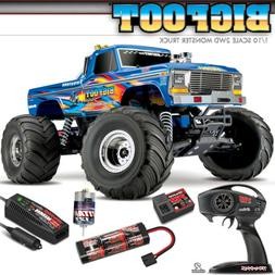 NEW Traxxas BIGFOOT 1 CLASSIC 2WD RTR RC Monster Truck BLUEX