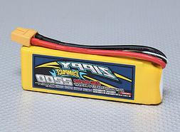New Zippy Compact 2200mAh 2S 7.4V 25C 35C Lipo Battery Pack RCXT60 XT-60 USA