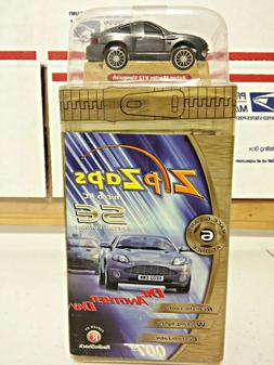 New ZipZaps Micro RC Car Aston Martin V12 Vanquish James Bon