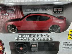 New Maisto Tech RC 2006 Dodge Charger SRT8 Red Black Car Box