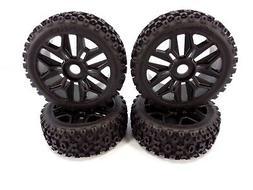 NEW Arrma Typhon 4x4 3s / 6s BLX dBoots 2-HO Tires & Black 1