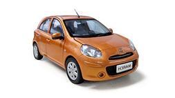 PAUDIMODEL Nissan March/ Micra 2010 Orange 1/18 Scale Diecas