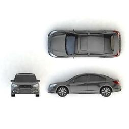 Official Genuine Subaru 2015 Legacy 1/64 Die Cast Toy Car Ne
