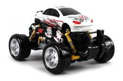 Peugeot 407 Sport Coupe Electric RC Drift Truck 1:18 Scale 4