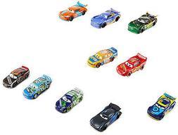 Disney FTX82 Pixar Cars DIE-CAST VEHICLES, 10 Pack, Multi Co