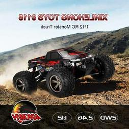 Popular 1:12 RC Car XINLEHONG 9115 2WD RTR High Speed Red Ca
