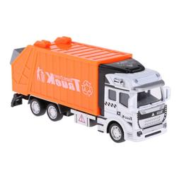 Pull Back Garbage Truck RC Car Vehicles Model with Container