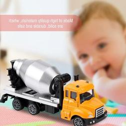 Pull Back Toy 1:64 RC Car Model Engineering Truck Vehicle Ki