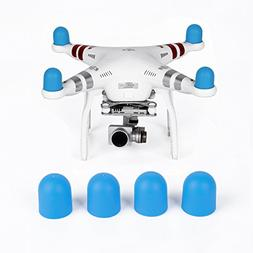 RCmall Premium 4 Pcs Quadcopter Motor Protector Silicon Moto