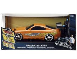 JADA R/C 1:16 Large Car Fast And Furious Brians TOYOTA SUPRA