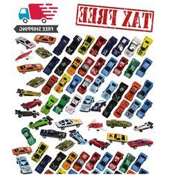 Racing Cars Set Race Car Lot Toy Box for Boys Children Chris